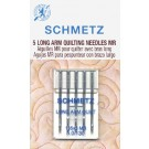 Schmetz Long Arm Quilting Needles 5 Count size 5.0/130