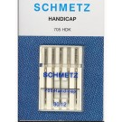 Schmetz Self-Threading Needles, 5 count, size 80