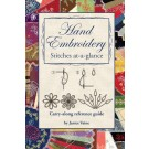 Hand Embroidery Stitches At-A-Glance: Carry-Along Reference Pocket Book Guide