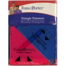 """Triangle Corner Trimmers, 1/2"""" & 1/4"""""""