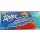 Ziploc Large Freezer Bags - 26.8cm x 27.3cm - Double Zipper - 40 bags per box