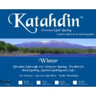 "Bosal Katahdin Premium 100% Polyester Batting - WINTER, Twin Size (Newly Added), 72"" x 94"" (183 cm x 238.76 cm)"