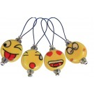 Knitter's Pride Zooni Stitch Markers - Smiley (12pk)
