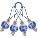 Knitter's Pride Zooni Stitch Markers - Blooming Blue (12pk)
