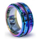 Knitter's Pride Row Counter Ring in Rainbow