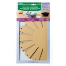 "Basket Frames Oval ""Extra Large"",  approx finish size  11''x9'' x 3-1/8'',  2  sets in the package"