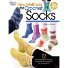 New Methods for Crochet Socks - 12 Diverse Designs including mix-and-match heel and toe construction