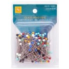 "Glass Head Pins, 1.25"" (3cm), 150 count"
