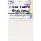 EZ Quilting Fabric Grabbers, Clear/Transparent, 25 dots