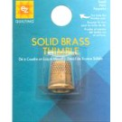 EZ Quilting Solid Brass Thimble, Small