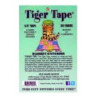 "Tiger Tape, Blanket Stitching/Button Hole Stitch, 1/4"" Tape x 30 Yards (Marked at 4 Lines Per Inch)"