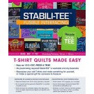 "Stabili-Tee Fusible Interfacing Pack 60"" X 72"": T-Shirt Quilts Made Easy (Instructions Included.)"