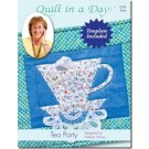 Tea Party Quilt Pattern by Quilt in a Day, Half Rectangle 2 Templates included