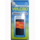 Velcro 4''X2'' Handy Pack, Sticky Back Fasteners - Black