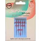 CLOVER Ballpoint Machine Needles (Size 70/9), 5 count