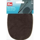 Patches Nappa Leather Dark Brown 2 count