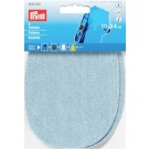 "Patches Denim  (Iron On/Sew On),  5.5"" x  4"",  2 Count: Light Blue"