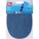 "Patches Denim  (Iron On/Sew On),  5.5"" x  4"",  2 Count: Medium Blue"
