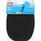 "Patches Denim  (Iron On/Sew On),  5.5"" x  4"",  2 Count: Black"