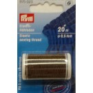 Elastic Thread Brown 20M x .5mm