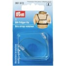Bra Strap Retainer, 10MM, clear