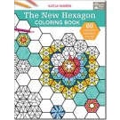 The New Hexagon Coloring Book: 60 Hexagon Designs to Color - by Katja Marek