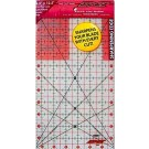 "Sullivans Cutting Edge FROSTED Rulers, Non-Skid & Sharpens Your Blade, 6.5"" x 12.5"""