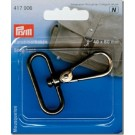 Prym Snap Hook, Antique Silver, 40mmx60mm, 1 Piece