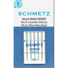 Schmetz HLx5 Professional Quilter's Machine Chrome Shank Needles, Size 11 (Light Weight Fabric), 5 count