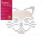 Cross Stitch/Embroidery Kit - Big Stitch Art - Cat, 12 x 12""