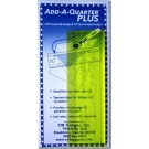 "Add-A-Quarter Plus rulers - 2 Pieces 2"" by 6"" and 2"" by 12"""