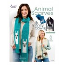 Annie's Animal Scarves & Infinity Cowls by Lisa McDonald