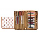 Knitter's Pride Assorted Needles Case - Eternity Hand Block Printed Fabric