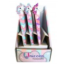 "Display - Unicorn Tweezers in Assorted Colours (15cm / 5.9""), 24 Pieces Per Display"