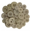 Button Bonanza White