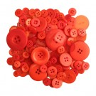 Button Bonanza Fire Engine Red