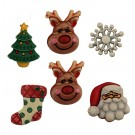 Reindeer Games-3D Buttons
