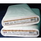 "Bosal Fashion-Fuse (Woven Interfacing-Fusible), 50cm (20"") x 22.86m (25 Yards), 100% Cotton, White (Per Metre)"