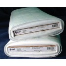 """Bosal Quilters Grid, 121.92 cm (48"""") x 22.86m (25 Yards), 100% Polyester, White (Per Metre)"""