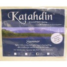 "Bosal Katahdin Premium 100% Cotton Batting - SUMMER, Full Size, 94"" x 96"" (238.76 cm x 244 cm)"