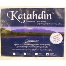 "Bosal Katahdin Premium 100% Cotton Batting - SUMMER, Queen Size, 108"" x 94"" (274.32 cm x 238.76 cm)"