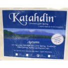 "Bosal Katahdin Premium 100% Cotton Batting - AUTUMN, Full Size, 94"" x 96"" (238.76 cm x 244 cm)"