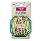 Bohin Safety Pins, Brass, 40pc.