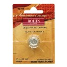 Bohin Thimble Quilters Nickel Plated Brass No. 3 Small