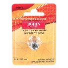 Bohin Thimble Quilters Nickel Plated Brass Sm No. 4