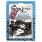 Binding And Hem Clips, 30 Count