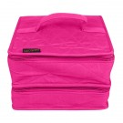 Yazzii The Deluxe Double Organizer, Fuchsia