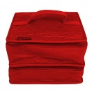 Yazzii The Deluxe Double Organizer, Red