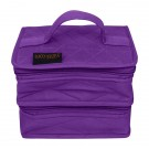 Yazzii Double Petite Craft Organizer, Purple