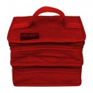 Yazzii Double Petite Craft Organizer, Red